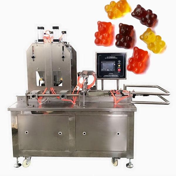 Commercial Automatic Soft Gummy Bear Candy Making Processing Machine