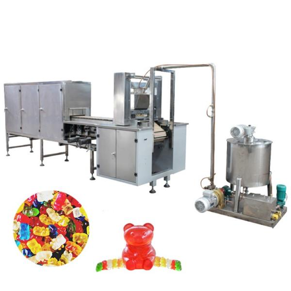 Small Automatic CBD Jelly Candy THC Gummy Candy Making Machine in shanghai