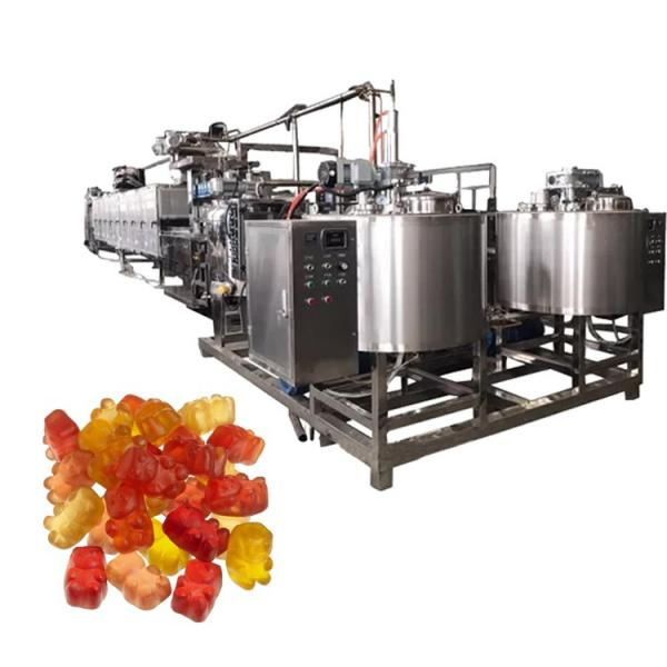 Automatic Toffee Candy Making Machine Line Gummy lollipop Hard Candy Maker With CE
