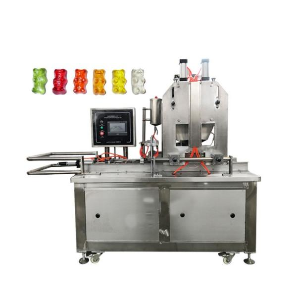 Fully Automatic Gummy/Soft/Jelly Bear Candy Depositing Production Line